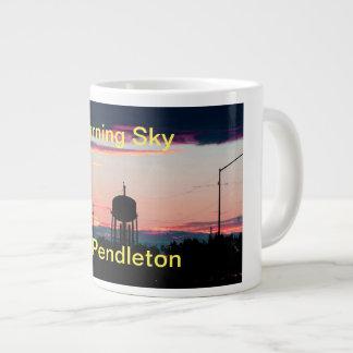 Burning Sky Large Coffee Mug