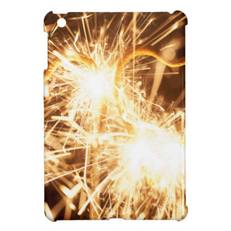 Burning sparkler in form of a heart case for the iPad mini
