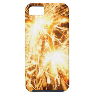 Burning sparkler in form of a heart iPhone 5 cases