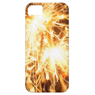Burning sparkler in form of a heart iPhone 5 cover