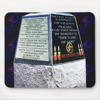 Burning Times Memorial Mouse Pad
