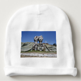 Burning torch sculpture Buzludzha monument Baby Beanie