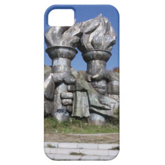Burning torch sculpture Buzludzha monument Barely There iPhone 5 Case