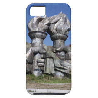 Burning torch sculpture Buzludzha monument Case For The iPhone 5