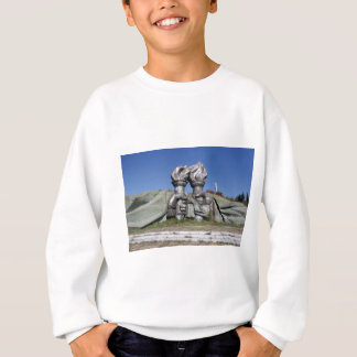 Burning torch sculpture Buzludzha monument Sweatshirt