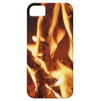Burning Wood Mobile Phone Case