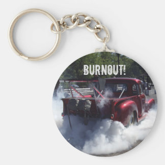 Burnout Truck Key Chain