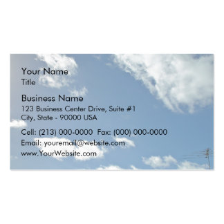 Burns Beach skyscape Pack Of Standard Business Cards