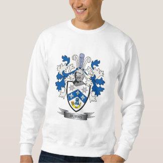 Burns Family Crest Coat of Arms Sweatshirt