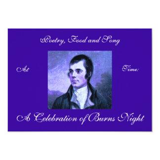 Burns Night Invitation