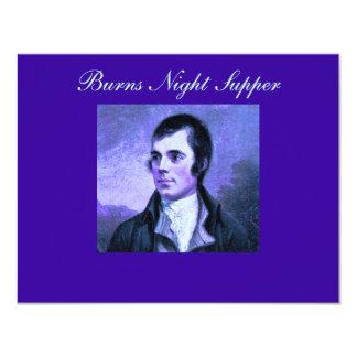 Burns Night Invitation - The Selkirk Grace
