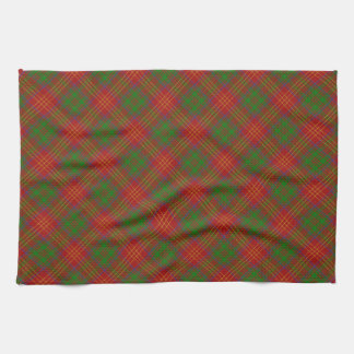 Burns Scottish Clan Tartan Kitchen Towel