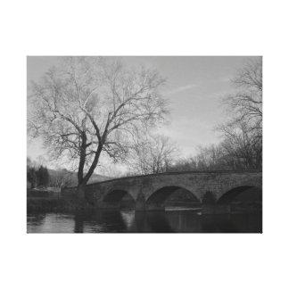 Burnside Bridge at Antietam National Battlefield Canvas Print