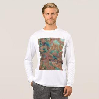 Burnt Copper Urban Hype Full Oil Painting T-Shirt