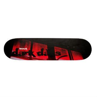 """Burnt """"dark days"""" 20 cm skateboard deck"""