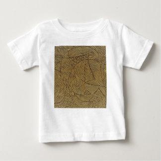 Burnt Gold Rough Start Baby T-Shirt