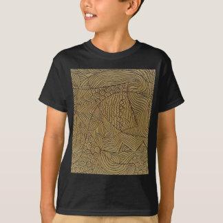 Burnt Gold Rough Start T-Shirt