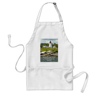 Burnt Island Lighthouse, Maine Apron