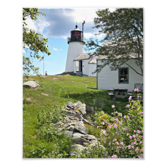 Burnt Island Lighthouse, Maine Photo Print