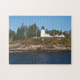 Burnt Island Lighthouse, Maine Puzzle