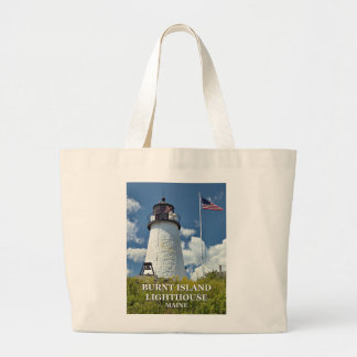 Burnt Island Lighthouse, Maine Tote Bag