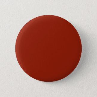 Burnt Orange 6 Cm Round Badge