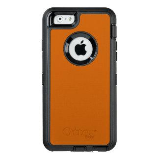Burnt Orange OtterBox Defender iPhone Case