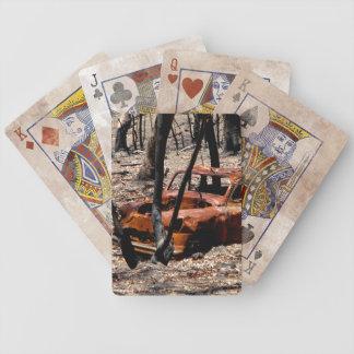 Burnt Out Car Card Decks