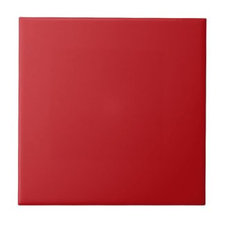 Burnt Red Background Ceramic Tile