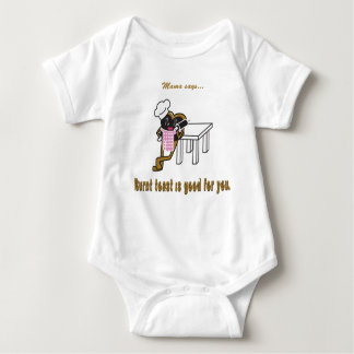 Burnt Toast Baby Bodysuit