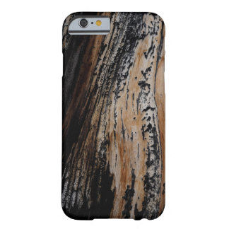 Burnt Tree Bark Texture Barely There iPhone 6 Case