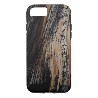 Burnt Tree Bark Texture iPhone 8/7 Case