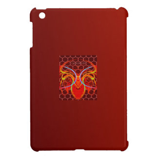 BURNTORANGE0CTOPUS ART iPad MINI CASE