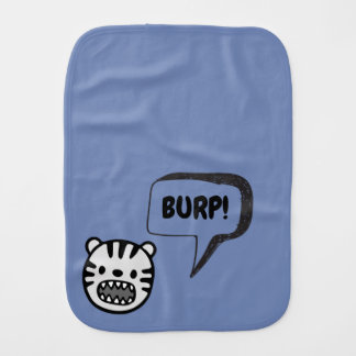 Burp Monster Burp Cloth