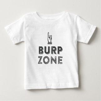 Burp Zone Fart Zone Funny Baby Tshirt