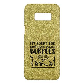 Burpee Sorry (glitter) Case-Mate Samsung Galaxy S8 Case