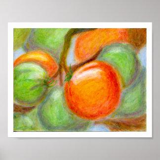 Burpee Tomatoes, Poster