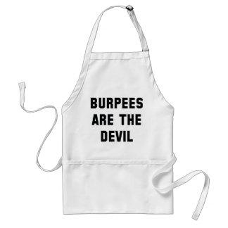 Burpees Are The Devil Standard Apron