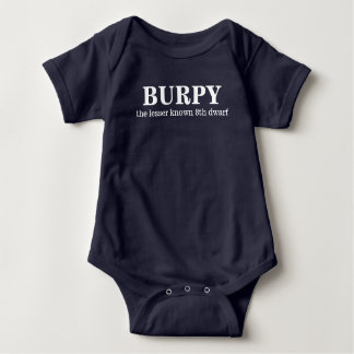 Burpy, the 8th dwarf baby bodysuit