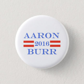 Burr 2016 3 cm round badge