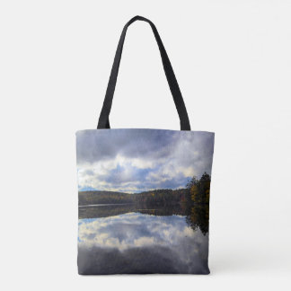 Burr Pond All OVer Print Tote