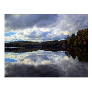 Burr Pond in Connecticut Postcard