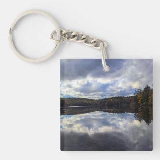 Burr Pond Key Chain