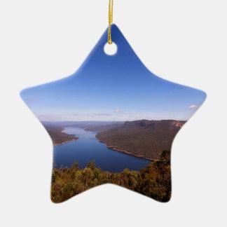 Burragorang Lookout Ceramic Ornament