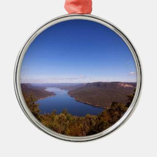 Burragorang Lookout Metal Ornament