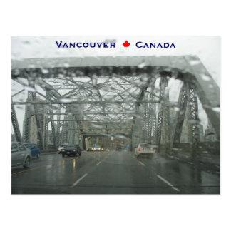 Burrard Bridge Vancouver Canada Postcard
