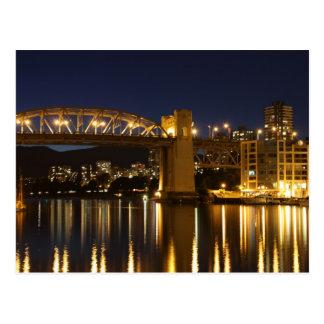 Burrard Bridge, Vancouver Postcard