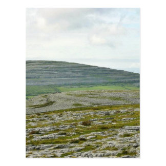 Burren Clouds Mountains Hills Postcard