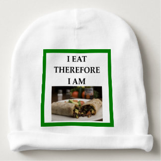 burrito baby beanie
