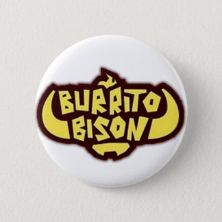 Burrito Bison Button